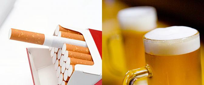 喫煙や飲酒など、献血後の趣味嗜好について
